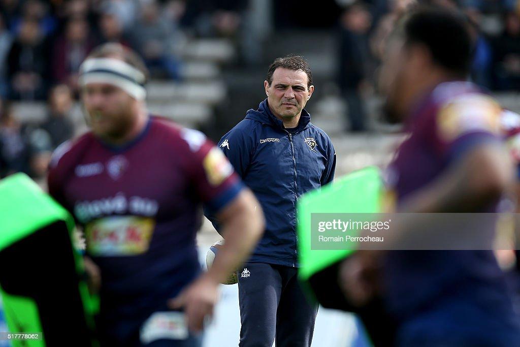 Union Bordeaux Begles Vs ASM Clermont Auvergne Rugby