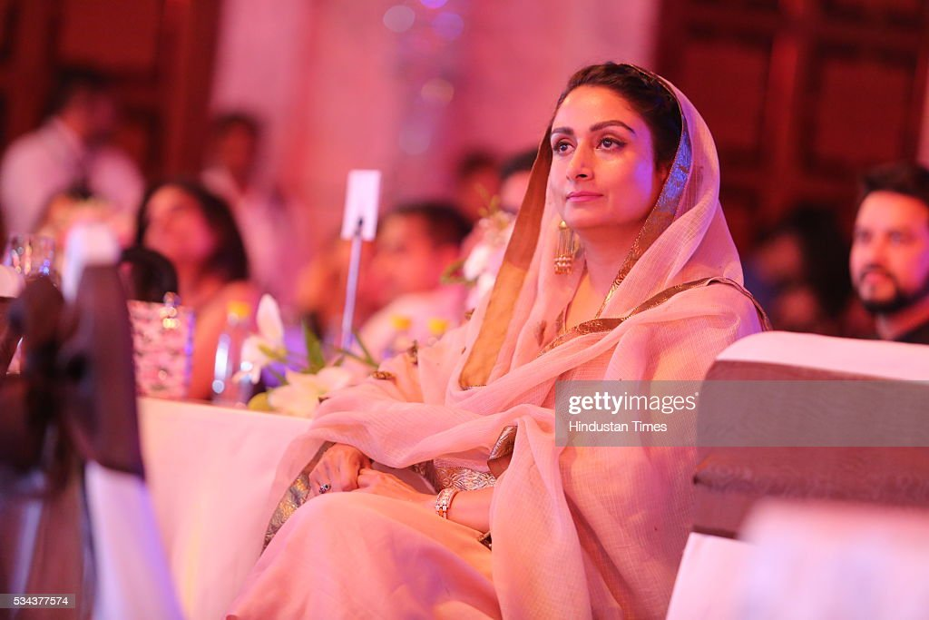 Union Cabinet Minister of Food Processing Harsimrat Kaur Badal during a sixth edition of Hindustan Times Most Stylish Awards 2016 at Hotel JW Marriot, Aerocity on May 24, 2016 in New Delhi, India.