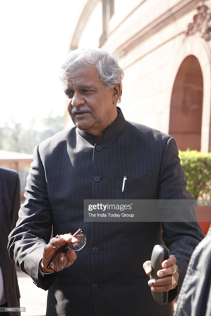 Union Coal Minister Sriprakash Jaiswal during the Parliamnet session on Monday, December 17, 2012.
