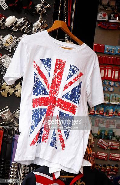Union Jack Tshirt Camden Town Market Stall London