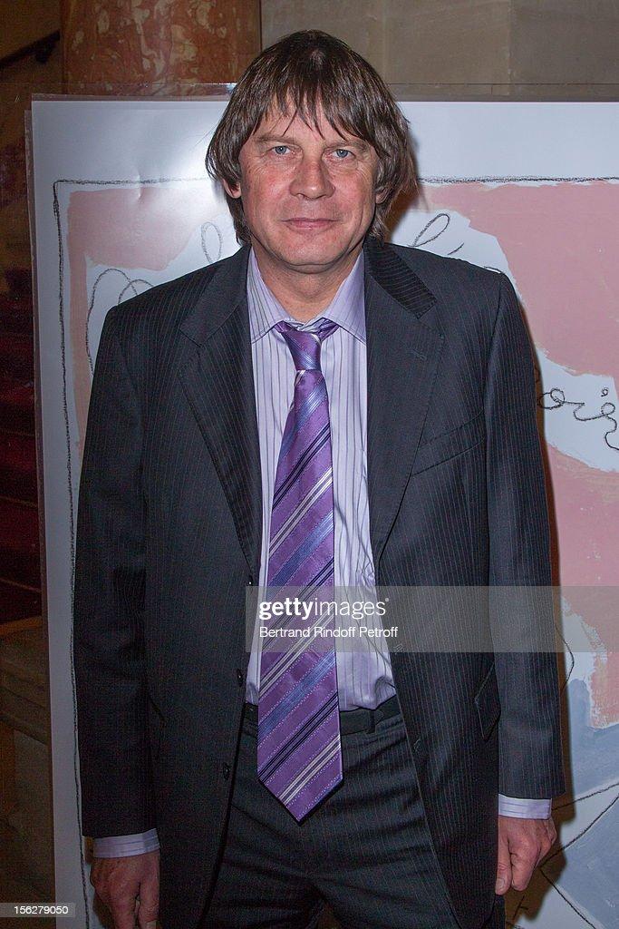 CGT union leader Bernard Thibault attends the Gala de l'Espoir charity event against cancer at Theatre du Chatelet on November 12 2012 in Paris France