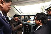 IND: PM Narendra Modi Flags Off Vande Bharat Express, India's First Semi-High Speed Train