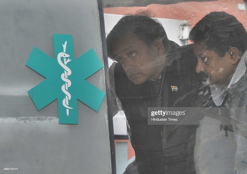 Congress Leader Shashi Tharoor Discharged From Hospital