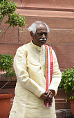 Union Minister of Labour and Employment Bandaru Dattatreya during the Parliament Monsoon Session on July 18 2016 in New Delhi India A total of 25...