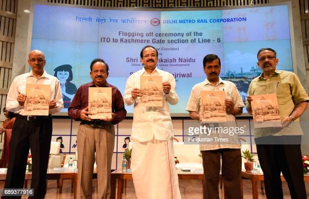 Union Minister of Urban Development M Venkaiah Naidu and Chief Minister of Delhi Arvind Kejriwal Ministry of Science Technology Ministry of...