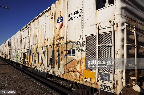 Union Pacific Railroad Stock Photos And Pictures Getty