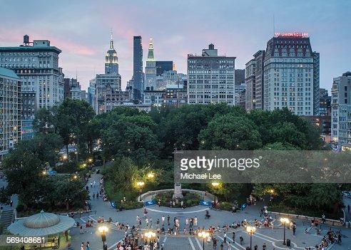 Union Square at Twilight - New York