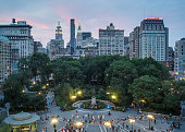 Union Square at Twilight - New York