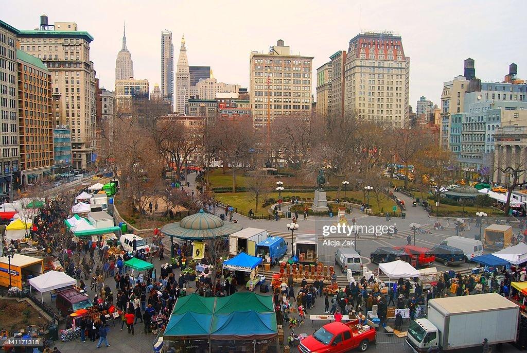 Union square flea market