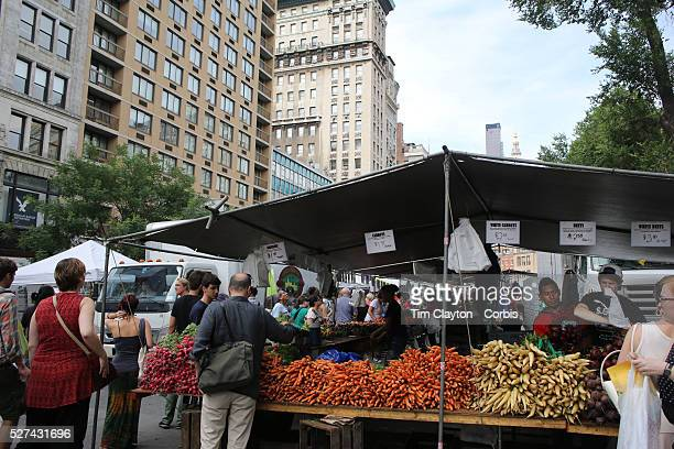 Union Square Market Manhattan New York The worldfamous Union Square Greenmarket began with just a few farmers in 1976 has grown exponentially over...