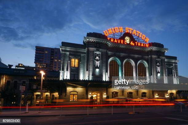 Union Station in Downtown Denver, Colorado
