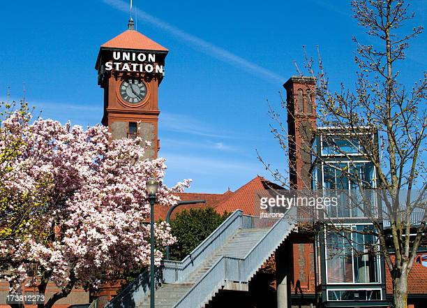 Union Station in the Spring