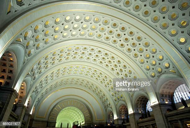 Union Station interior, Washington DC, USA