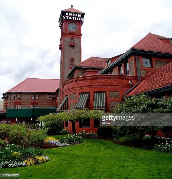 Gare Union Station à l'aéroport de Portland
