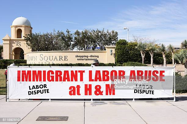 Union Strike Immigrant Labor Worker Abuse