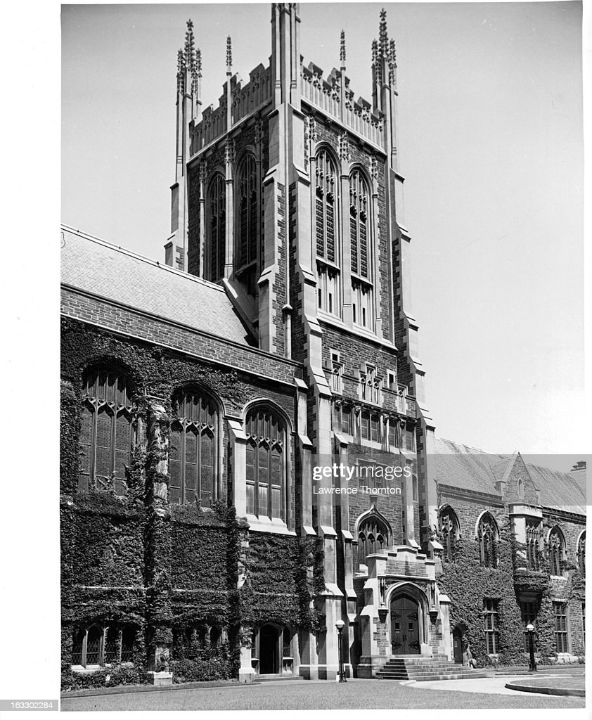 Union Theological Seminary in New York City 1955