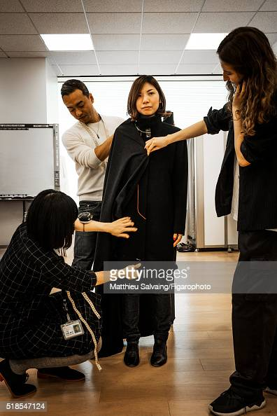 Uniqlo designers are photographed for Madame Figaro on January 13 2016 in Tokyo Japan The designers wear their creations to ensure optimum quality...