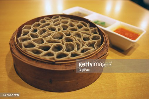 Unique shaped oat flour cuisine : Stock Photo