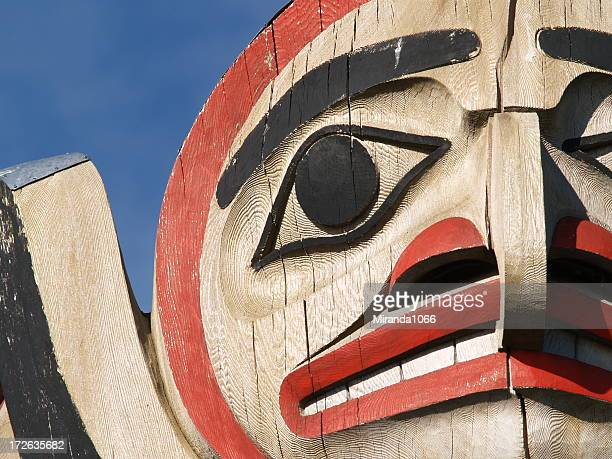 A unique Totem in Vancouver BC