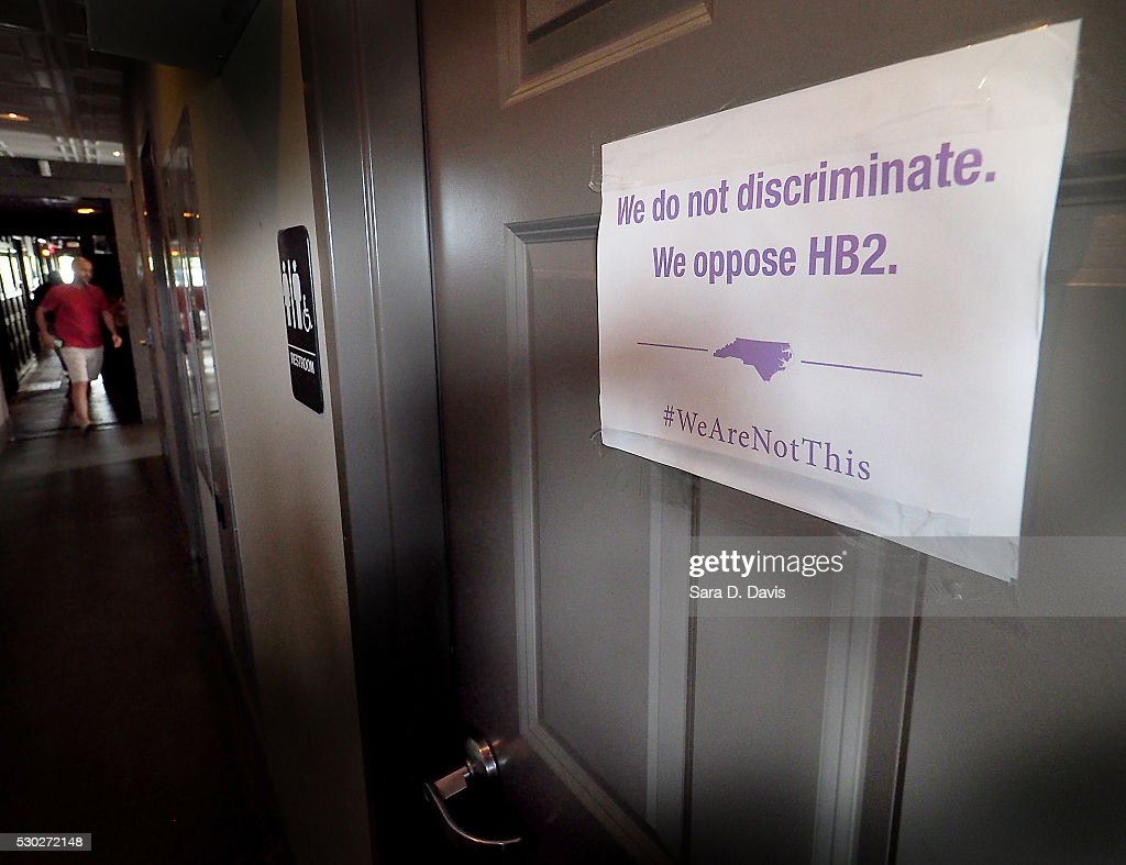North Carolina Clashes With U S Over New Public Restroom Law Getty Images