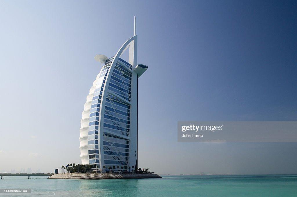 United Arab Emirates, Dubai, Burj al Arab, outdoors : Stock Photo