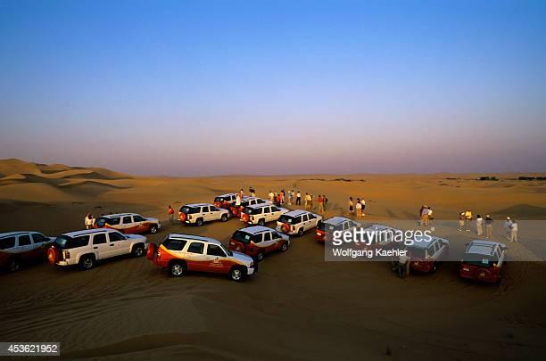 United Arab Emirates Dubai Dubai Desert Conservation Reserve 4 Wheel Drive Cars