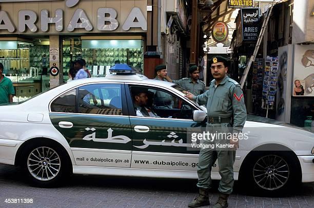 United Arab Emirates Dubai Gold Souk Police