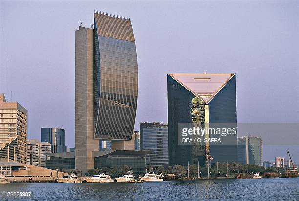 United Arab Emirates Dubai National Bank and Chamber of Commerce buildings