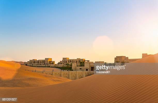 United Arab Emirates, Emirate of Abu Dhabi, Liwa Desert, Qasr Al Sarab Desert Resort