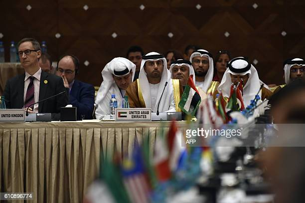 United Arab Emirates Energy Minister Suhail bin Mohamed alMazroui attends an informal meeting between members of the Organization of Petroleum...