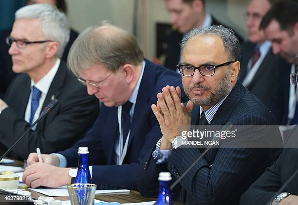 United Arab Emirates Minister of State for Foreign Affairs Anwar Gargash takes part in the White House Summit on Countering Violent Extremism Foreign...