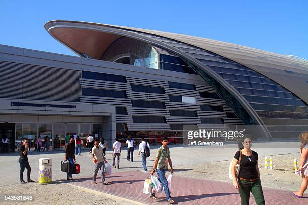 United Arab Emirates UAE UAE Middle East Dubai Metro subway public transportation Red Line Ibn Battuta Station exterior