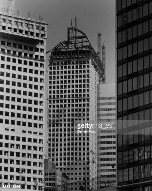 United Bank tower 17th and Lincoln only big building in downtown that won't be flat topped Credit The Denver Post