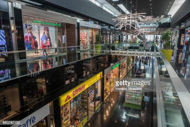 United Color of Benetton and other stores at Forum Sintra one of four commercial centers owned by The Blackstone Group in Lisbon region on September...