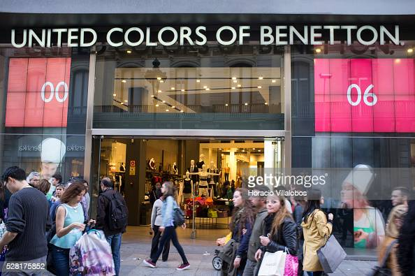 united colors of benetton in barcelona pictures getty images