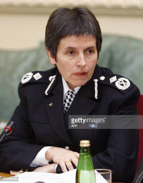 Britain's Metropolitan Police Deputy Assistant Commissioner Cressida Dick attends a meeting with Britain's Prime Minister Tony Blair on gun crime at...
