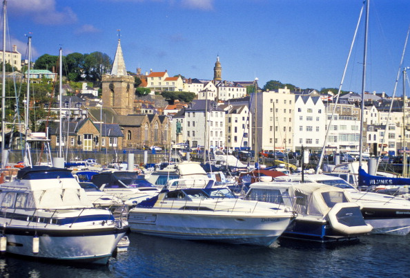 St Peter Port United Kingdom  city pictures gallery : United Kingdom, Channel Islands, Guernsey, St, Peter Port, Boats In ...