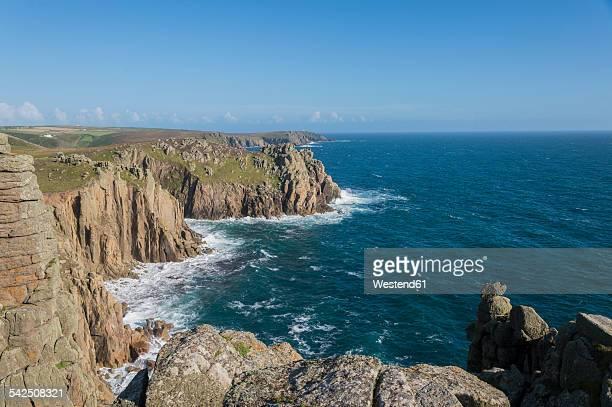 United Kingdom, England, Cornwall, Lands End, Coast, Cliff