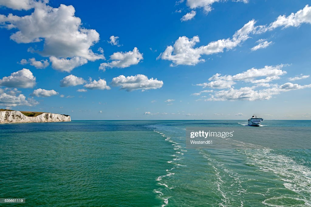 United Kingdom, England, Kent, Dover, English Channel, Channel ferry