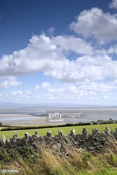 United Kingdom, England, Lancashire, View to Morecambe Bay