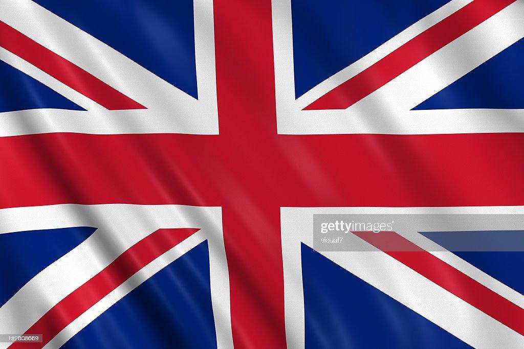 united kingdom flag : Stock Photo