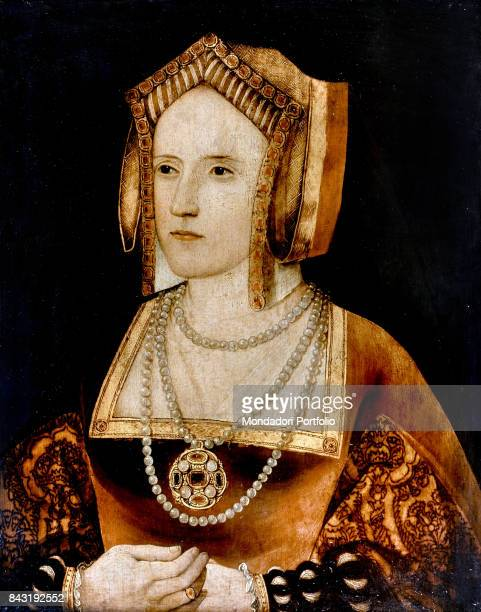 United Kingdom London Lambeth Palace Whole artwork view Portrait of the last wife of the King of England Henry VIII Tudor Catherine Parr