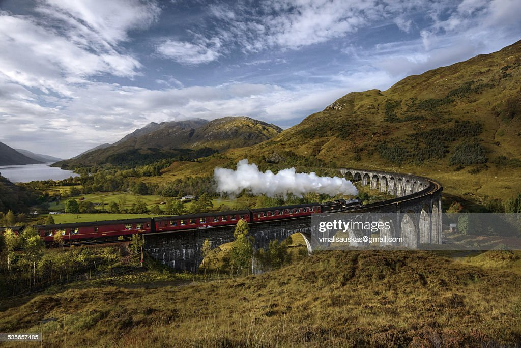 Glenfinnan United Kingdom  city images : United Kingdom Scotland Highland Glenfinnan A830 Glenfinnan Viaduct ...