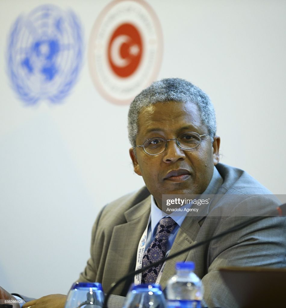 United Nation Framework Convention on Climate Change Secretariat (UNFCCC), Paul Desanker attends the 'Climate Change in the Least Developed Countries' session as part of the Istanbul Programme of Action for the Least Developed Countries in Antalya, Turkey on May 29, 2016.