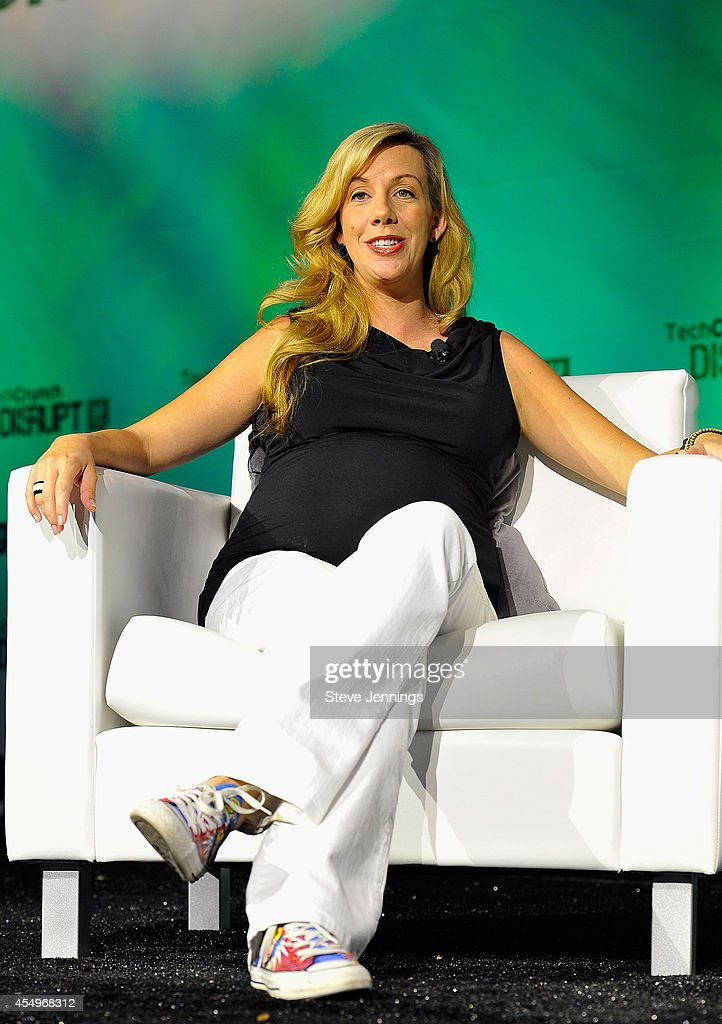 United Nations Foundation Resident Entrepreneur Elizabeth Gore speaks onstage at TechCrunch Disrupt at Pier 48 on September 8, 2014 in San Francisco, California.