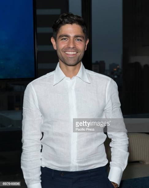 United Nations Goodwill Ambassador Adrian Grenier attends Lonely Whale foundation benefit in Spring Studios