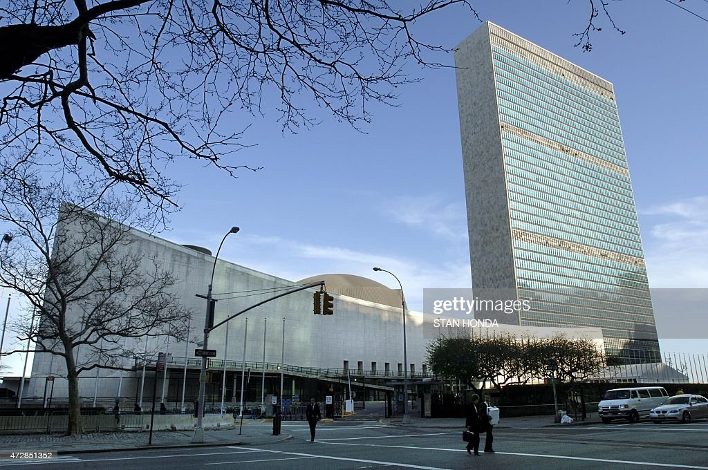 United Nations headquarters is seen in this 14 April photo in New York City The UN Headquarters site is officially international territory not part...