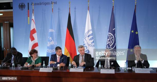 United Nations High Commissioner for Refugees Filippo Grandi EU Commissioner for Migration Home Affairs and Citizenship Dimitris Avramopoulos...