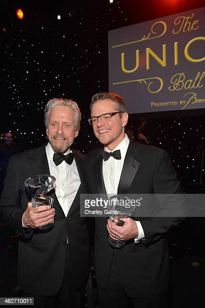 United Nations Messenger of Peace Michael Douglas recipient of the Danny Kaye Humanitarian Peace Award and emcee and Danny Kaye Humanitarian Peace...