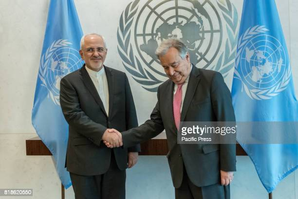 United Nations SecretaryGeneral Antonio Guterres held a bilateral meeting with Javad Zarif Minister for Foreign Affairs for the Islamic Republic of...